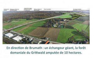 carte-GCO-Vendenheim-Brumath-échangeur