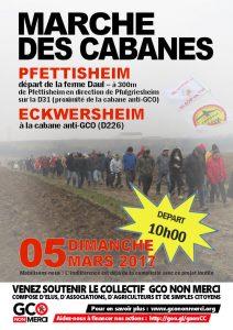 5 mars 2017 : « Marche des cabanes » – Pfettisheim/Eckwersheim @ Pfettisheim | Vendenheim | Grand Est | France