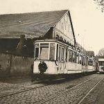 Tram-Funérailles du tramway de Strasbourg - 1950