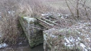 Vestige des anciennes lignes subaurbain – Ici, un pont sur la Musaubach