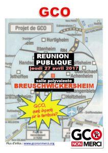 Réunion publique à Breuschwickersheim : « Quels impacts sur le territoire ? » @ Salle polyvalente | Breuschwickersheim | Grand Est | France
