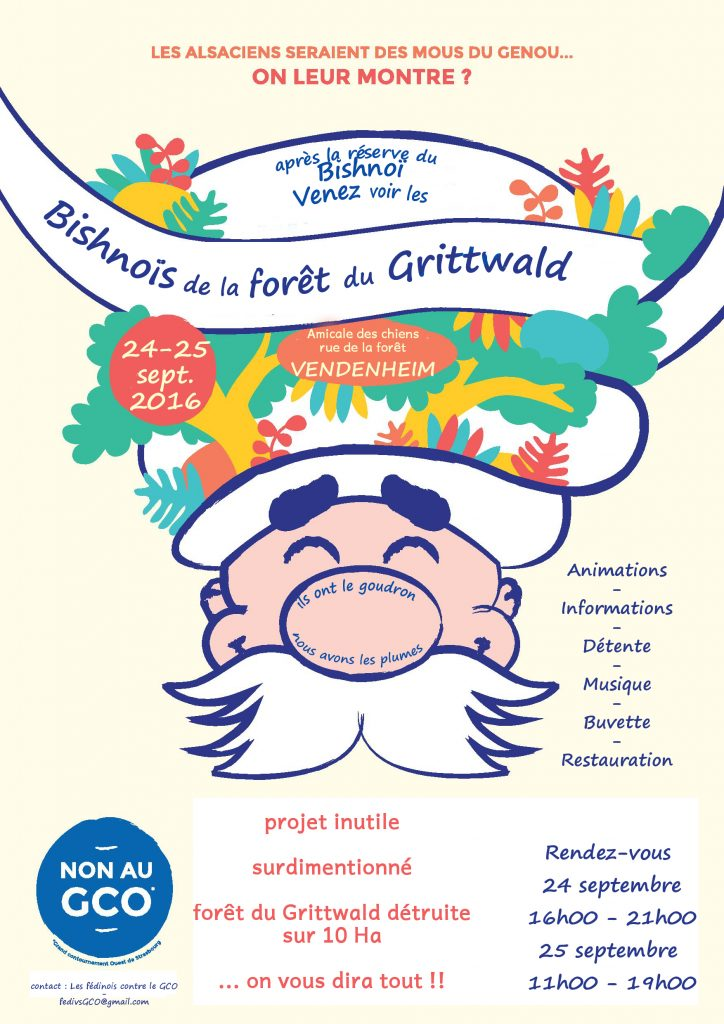 affiche 2016 « festival du Bishnoï du Grittwald »