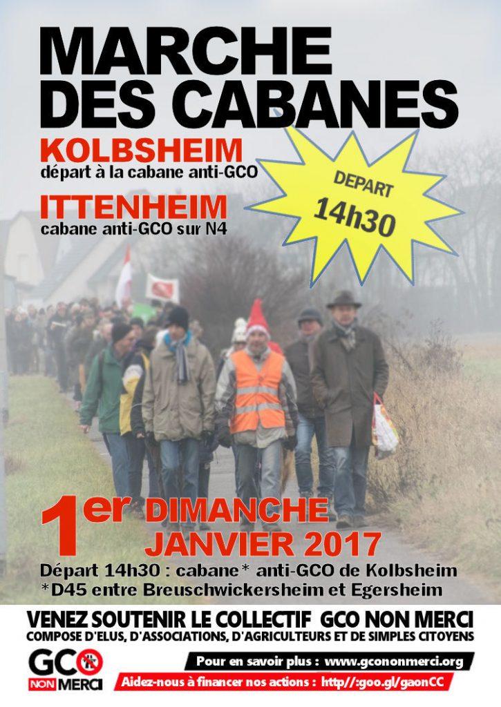 affiche marche 2   Kolbsheim - Ittenheim