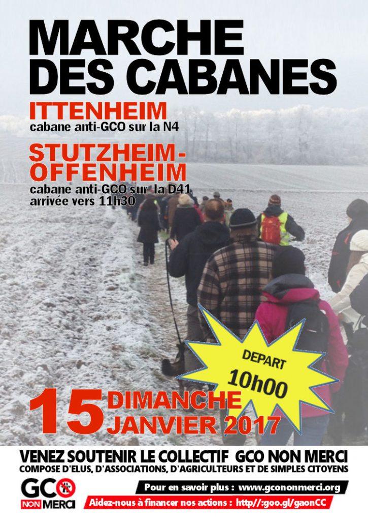 affiche marche 3   Ittenheim - Stutzheim-Offenheim