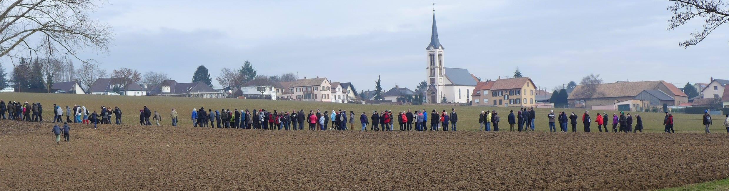 Marche découverte pour l'abandon du GCO @ Complexe Sportif  | Ernolsheim-Bruche | Grand Est | France