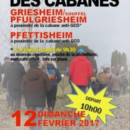 affiche marche 5 | Griesheim/Souffel Pfulgriesheim - Pfettisheim