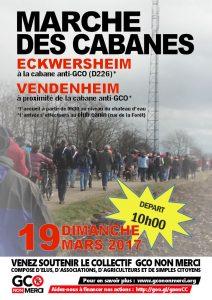 19 mars 2017 - marche des cabanes - Eckwersheim/Vendenheim @ Eckwersheim | Eckwersheim | Grand Est | France