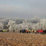 Marche des cabanes Kolbsheim / Ittenheim du 1er janvier 2017