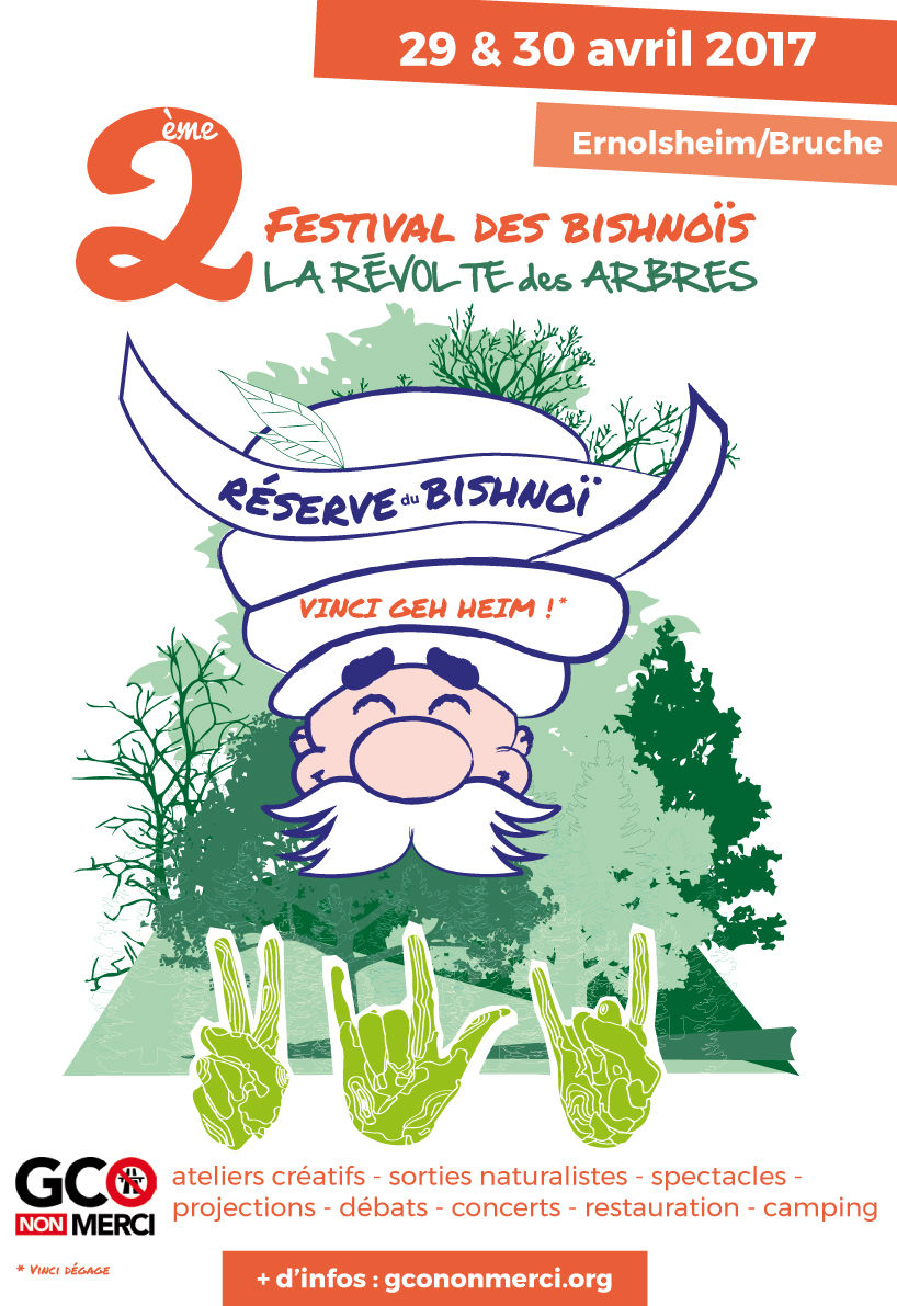 affiche 2017 « festival du Bishnoi »