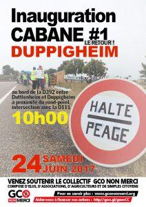 Inauguration cabane Duppigheim @ Duppigheim | Duppigheim | Grand Est | France