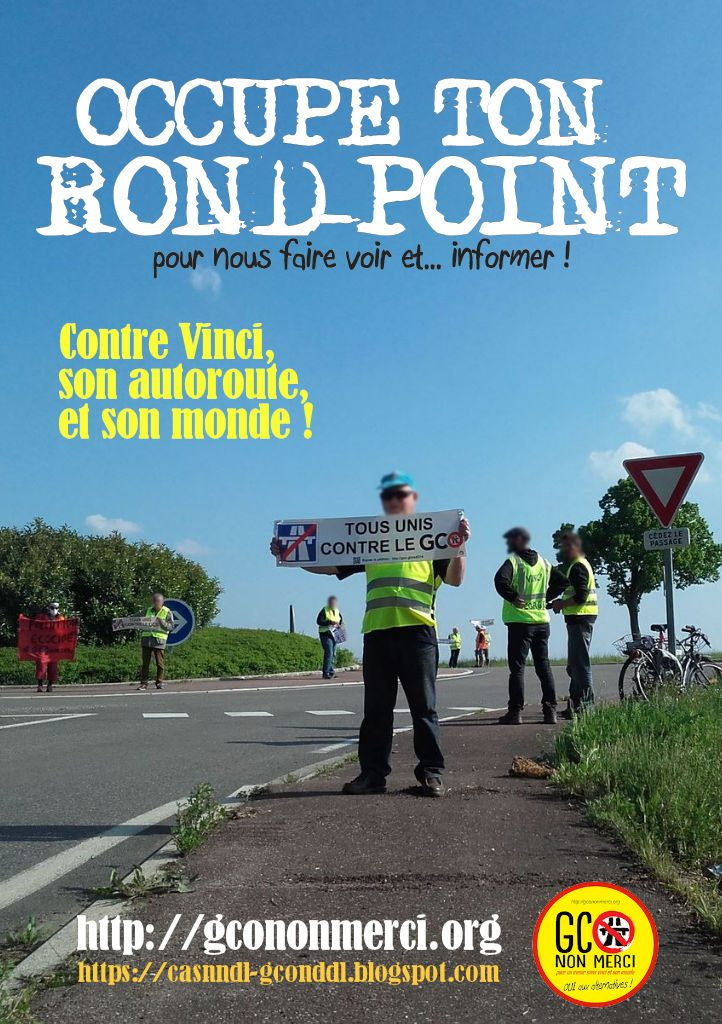 affiche « occupe ton rond-point » v2