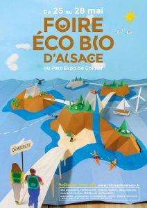 36ème Foire Eco Bio d'Alsace - 25 au 28 mai 2017 @ Parc des expositions et des Congrès de Colmar | Colmar | Grand Est | France