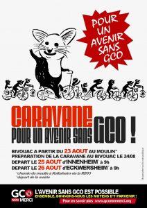Caravane pour un avenir sans GCO - du 23 au 26 août 2017