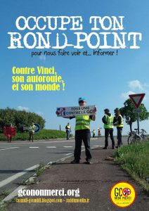 « Occupe ton rond-point » Entzheim @ Intersection D392 - D1422 - A35