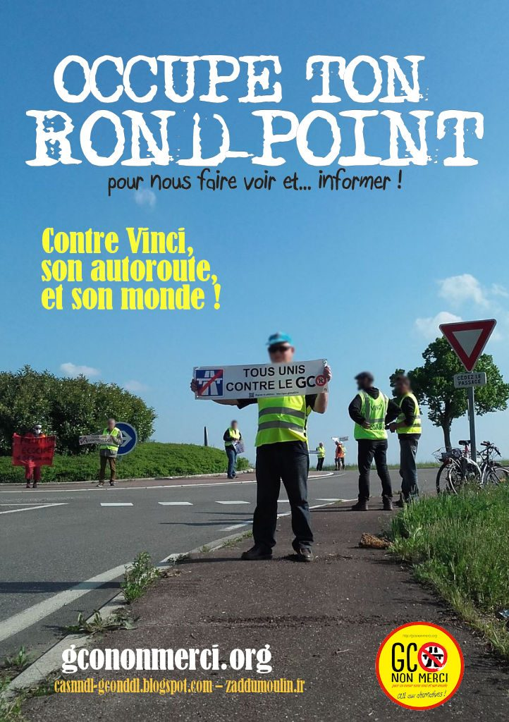 affiche « occupe ton rond-point » v3