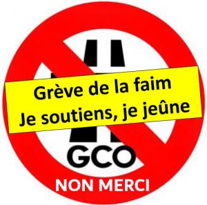 Grève de la faim contre le GCO : Je soutiens, j'agis... jeûne collectif ! @ Place Kléber, Strasbourg | Strasbourg | Grand Est | France