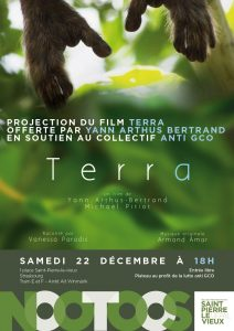 Projection du film Terra de Yann Arthus Bertrand