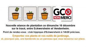 Plantons notre avenir sans GCO à Eckwersheim @ Eckwersheim