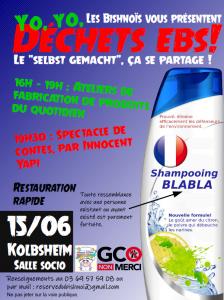 """les Bishnoïs vous invitent à leur journée """"déchets Ebs!"""" @ Kolbsheim, salle socioculturelle"""