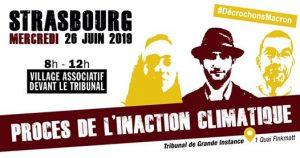 Soutien aux militants climat/GCO en procès à Strasbourg @ TGI de Strasbourg