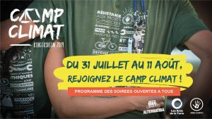 CAMP CLIMAT KINGERSHEIM : 31 juillet / 11 août 2019