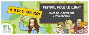Festival et marche pour le Climat - Strasbourg @ Palais universitaire