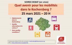 Soirée débat : Quel avenir pour les mobilités dans le Kochersberg ? @ Place de la République
