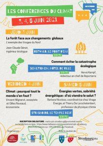 Conférence pour le Climat - Strasbourg @ Palais universitaire